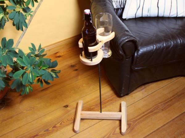 Bierhalter mit Fuß