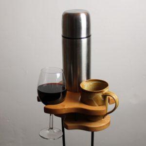 Trio Spezial - Getränkehalter - Buche - dekoriert