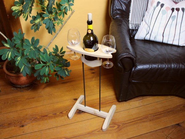 Weinhalter Romantik mit Fuß
