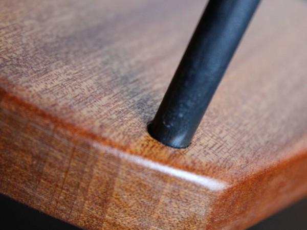 Weinhalter Kühler - Getränkehalter - Mahagoni - Detail