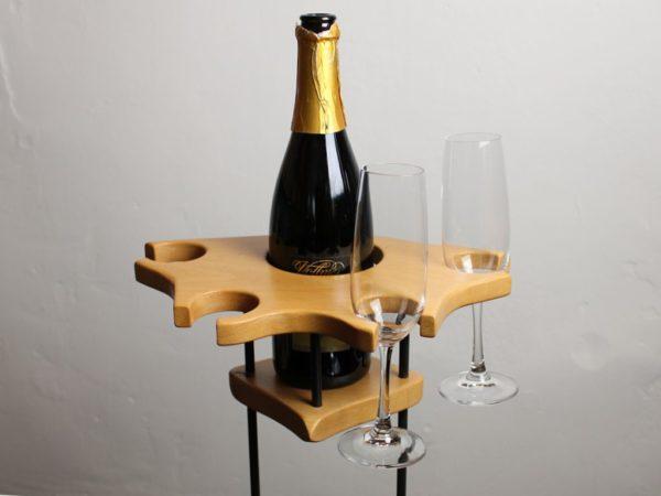 Weinhalter Party - Buche - dekoriert