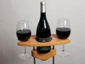 Weinhalter Romantik - Buche - dekoriert